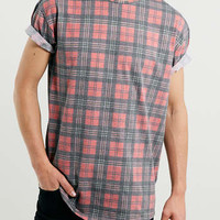 RED CHECK SKATER T-SHIRT - Men's Tees & Tanks - Clothing