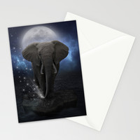 Power Is No Blessing In Itself (Protect the Elephants) Stationery Cards by soaring anchor designs ⚓ | Society6