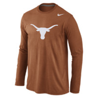 Nike College Logo Long-Sleeve (Texas) Men's T-Shirt