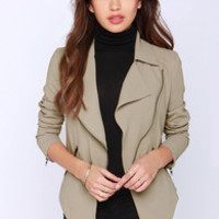 BB Dakota Dante Taupe Jacket