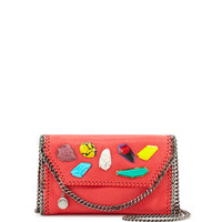 Stella McCartney Falabella Stones Flap Shoulder Bag, Pink