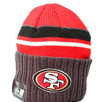 San Francisco 49ers Prep Class Beanie (Red/Gry)