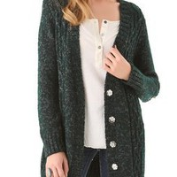 Elizabeth and James Studded Cardigan | SHOPBOP