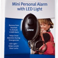 SABRE Mini Personal Alarm with LED Light