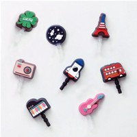 Rubber Smartphone Earphone Cap