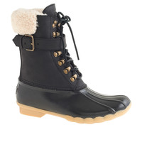 WOMEN'S SPERRY TOP-SIDER® FOR J.CREW BUCKLE BOOTS