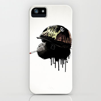 Born to kill iPhone & iPod Case by Nicklas Gustafsson | Society6