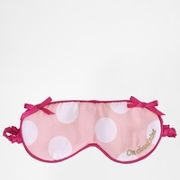 Beauty On Cloud Nine Embroidered Eye Mask
