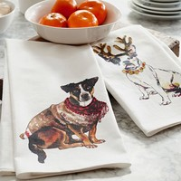 DOG PRINT KITCHEN TOWEL