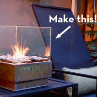 Make It: A Sleek Outdoor Fire Pit on the Cheap! » Curbly | DIY Design Community « Keywords: DIY, Inspiration, outdoor, summer
