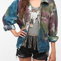 Urban Renewal Tie-Dye Denim Jacket