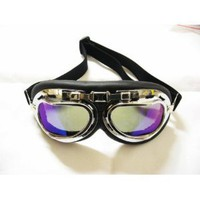 Amazon.com: WWII Raf Vintage Pilot Motorcycle Biker Cruiser Goggles: Automotive