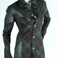 Wild Rose Jacket by 14th Addiction - Limited Size Medium and Large