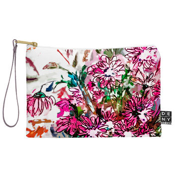 Ginette Fine Art Pink Spray Pouch