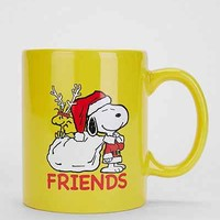 Snoopy + Woodstock Friends Peanuts Mug - Yellow One