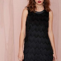 Joa Shake Down Fringe Dress
