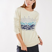 United By Blue Printed Crew Pullover Sweatshirt