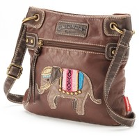 Unionbay Elephant Applique Crossbody Bag