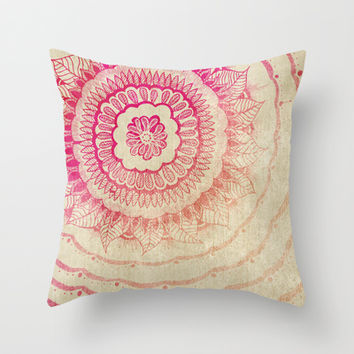 Drama Queen  Throw Pillow by rskinner1122