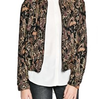 TAPESTRY JACQUARD JACKET