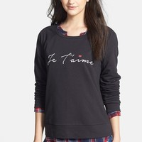 Ace Delivery 'Je T'Aime' Sweatshirt