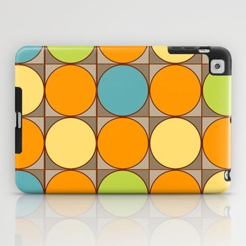Squared Circles iPad Case by Texnotropio