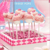 Marshmallow Treat Pops // Hostess with the Mostess?-