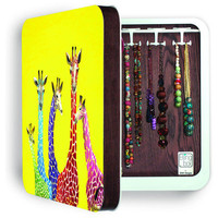 DENY Designs Home Accessories | Clara Nilles Jellybean Giraffes BlingBox 3ct