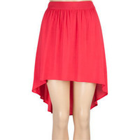 FULL TILT Solid Hi Low Skirt 195485246 | Skirts | Tillys.com