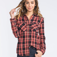 VANS Obsession Womens Flannel Shirt 253183149 | Flannels & Plaids