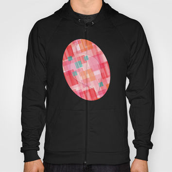 Abstract Red Hoody by eDrawings38 | Society6