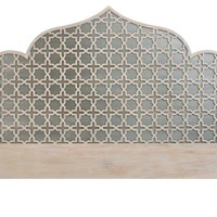 Loki Arch Headboard, Gray
