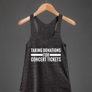 Taking Donations for Concert