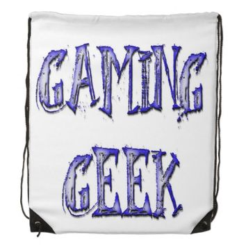Gaming Geek Blue