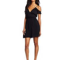 Amazon.com: BCBGeneration Women's Flutter Sleeve Dress: Clothing