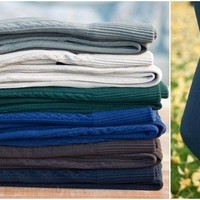 White Plum's Cable Knit Fleece Lined Leggings! 8 Colors Available!