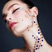 Face Lace Beauty Sparks
