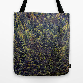 The Landscape Is Changing Tote Bag by Tordis Kayma