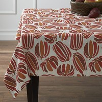 "Pumpkin Patch 60""x90"" Tablecloth."
