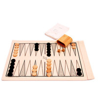 Roll-Up Backgammon & Checkers | Waiting On Martha