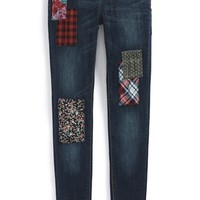 Girl's Hudson Kids 'Cool Confusion' Skinny Jeans