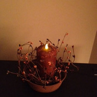 Primitive Candle 6&quot; Pillar (LED)