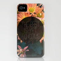 The Best Is Yet To Come iPhone Case by Galaxy Eyes | Society6