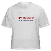 Its Romney! White T-Shirt