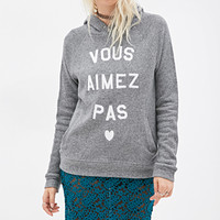 French Graphic Hoodie