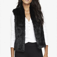FAUX FUR VEST from EXPRESS
