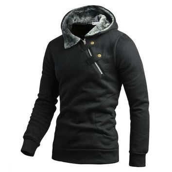 Miusol Men's Athletic Hooded Sport Sweatshirt