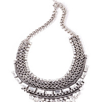 Stacked Tribal-Inspired Necklace