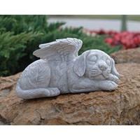 Dog Memorial Angel Pet Statue - QL6079 - Design Toscano