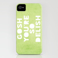 Gosh (Delish)  iPhone Case by Rachel Burbee | Society6